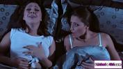 คลิปโป๊ Brunette lesbo joins fiancee and ex gf in threesome ร้อน 2021